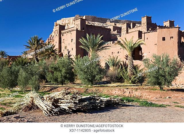 Morocco Ouarzazate Ait Benhaddou