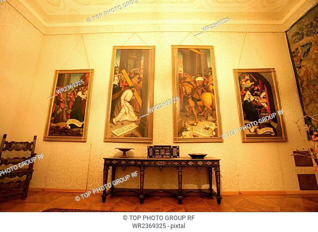 The Metternich national Museum Cheb Czech Republic