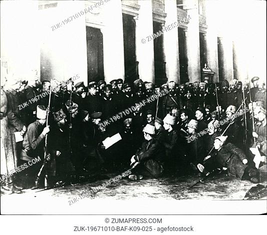 Oct. 10, 1967 - 50th Anniversary Of October Revolution: This year marks the 50th Anniversary of the Russian October Revolution