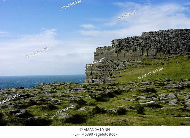 Dun Aengus Cliffs, Aran Island of Inishmore, Ireland