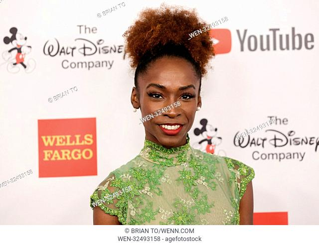 Celebrities attend GLSEN Respect Awards at Beverly Wilshire Hotel - Arrivals Featuring: Angelica Ross Where: Los Angeles, California
