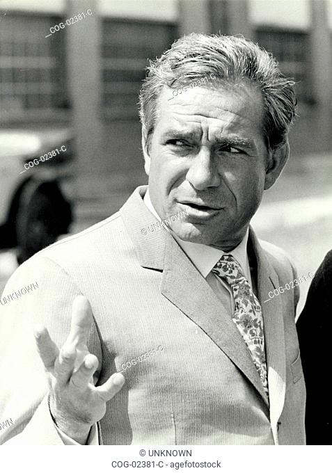 Ugo Tognazzi, actor, Italy