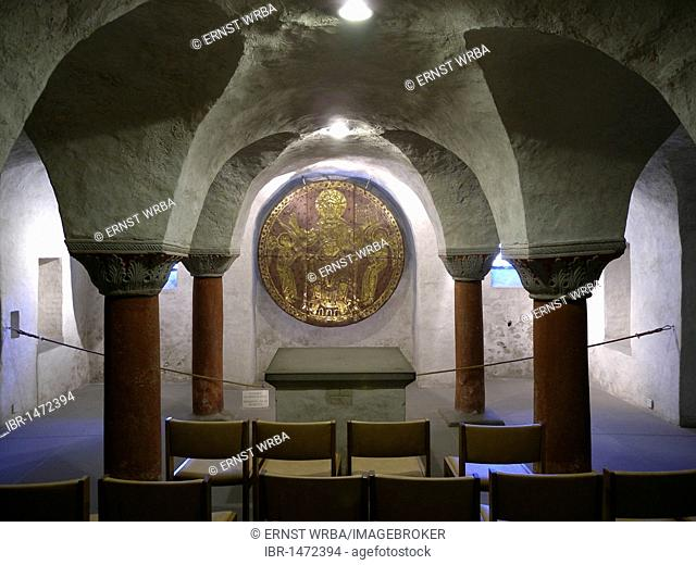 Crypt, Cathedral of Constance, Konstanz, Lake Constance, Baden-Wuerttemberg, Germany, Europe