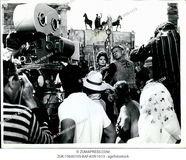 1968 - Filming 'The Fall Of The Roman Empire' - In Madrid: A vast set had been prepared at Las Matas, Madrid - for the filming of the new Samuel Bronston epic...
