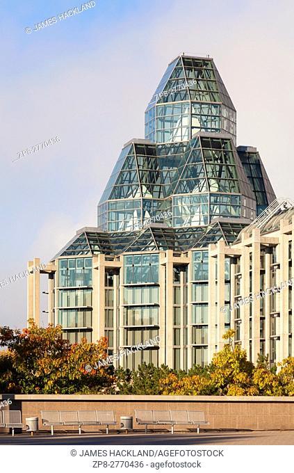 The National Gallery of Canada. Ottawa, Ontario, Canada
