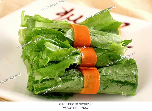 Mahjong lettuce