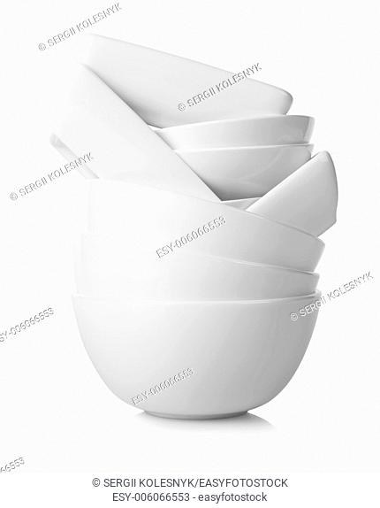 White lates isolated on a white background
