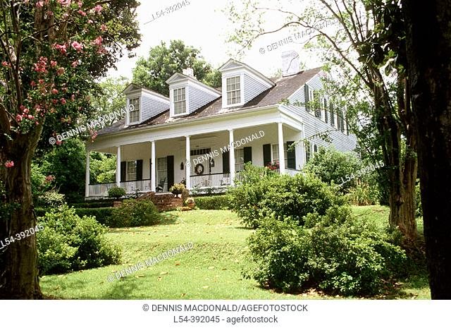 Historic Myrtle Terrace house, Natchez. Mississippi, USA