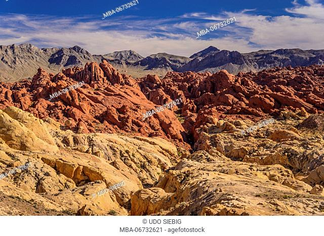 The USA, Nevada, Clark County, Overton, Valley of Fire State Park, Fire canyon