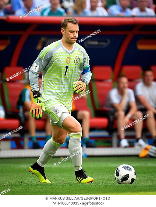 Goalkeeper Manuel Neuer (Germany). GES / Soccer / World Cup 2018 Russia: South Korea - Germany, 27.06.2018 GES / Soccer / Football / Worldcup 2018 Russia: Korea...