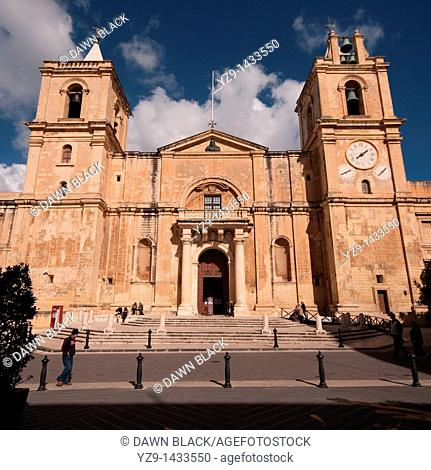 St  John's Co-Cathedral, Valletta, Malta
