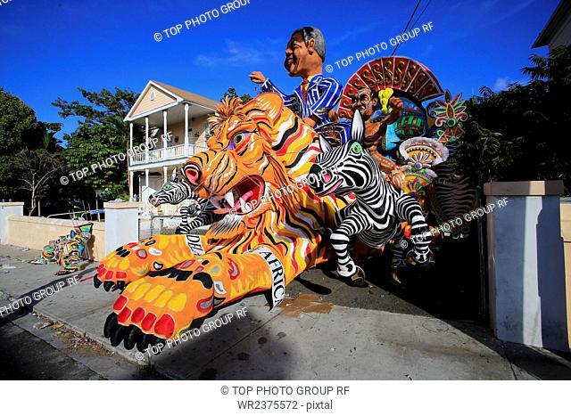 Christmas Carnival Parade Bahamas North America