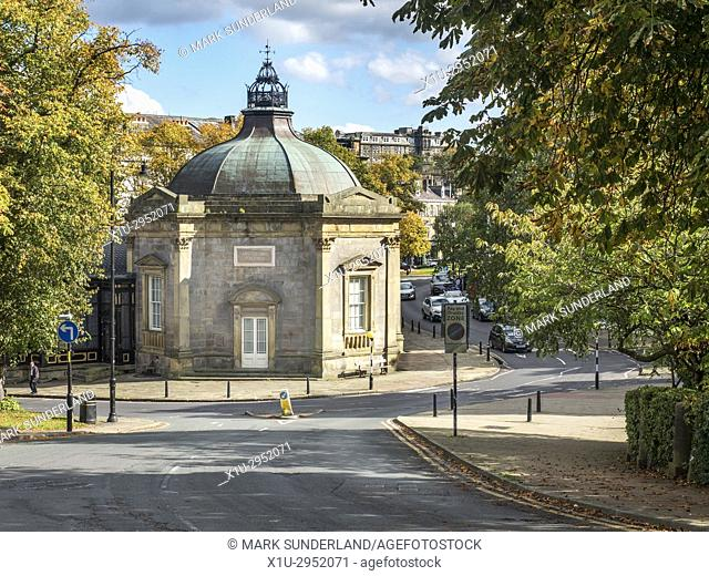 Royal Pump Room Museum in Early Autumn Harrogate North Yorkshire England