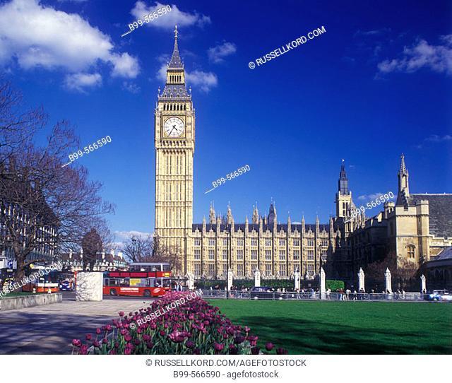 Houses Of Parliament, Parliament Square, London, England, U.K