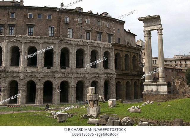 Italy, Rome. Colosseum, Amphitheater, arena