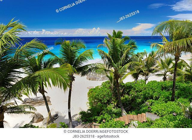Beach Anse Intendance, Mahe Island, Seychelles, Indian Ocean, Africa