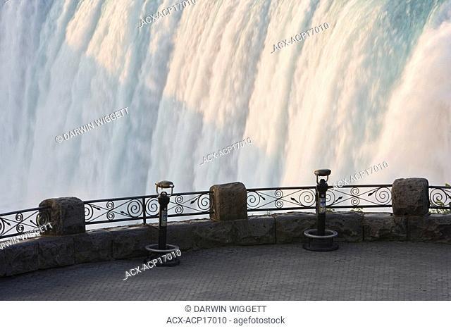 Horseshoe Falls at Table Rock viewpoint, Niagara Falls, Ontario, Canada