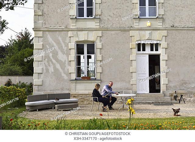 """Manoir de La Galotiere, Chez Vincent """"Cuisinier de Campagne"""" a Ingrandes-de-Touraine, departement Indre-et-Loire, region Centre-Val de Loire, France"""