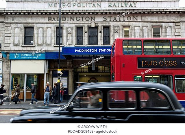 Paddington station, London, England, railway station