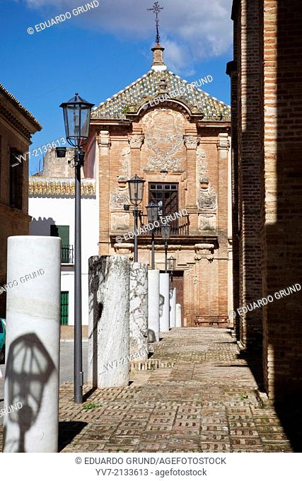 The Aguilar's House Palace. Carmona, Seville, Andalusia, Spain, Europe