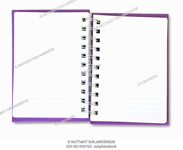 Purple Note Book