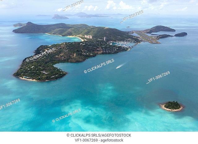 Whitsunday Islands, Queensland, Australia. Aerial View