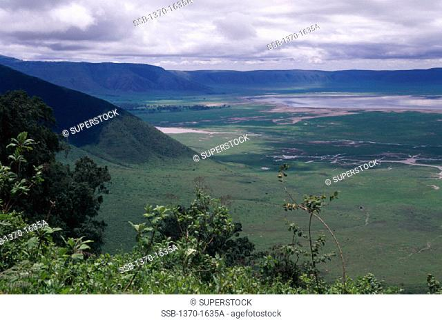 Ngorongoro Crater Ngorongoro Conservation Area Tanzania