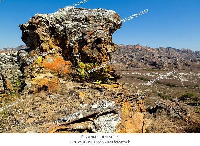 The Isalo national park, Madagascar