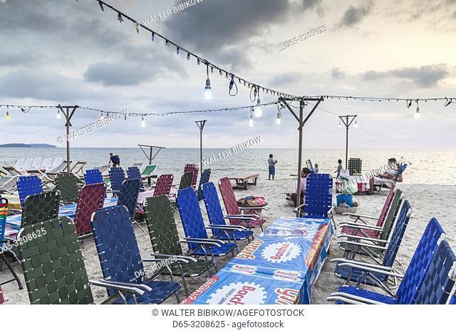 Cambodia, Sihanoukville, Serendipity Beach, NR