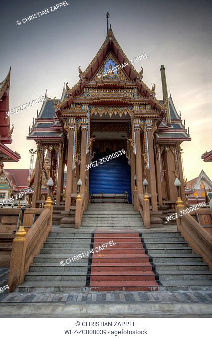 Thailand, Samut Sakhon Province, Samut Sakhon, Wat Pom, Crematorium