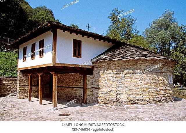 Etara Ethnographic Outdoor Village Museum, Etara, Near Gabrovo, Bulgaria  Holy Epiphany Church