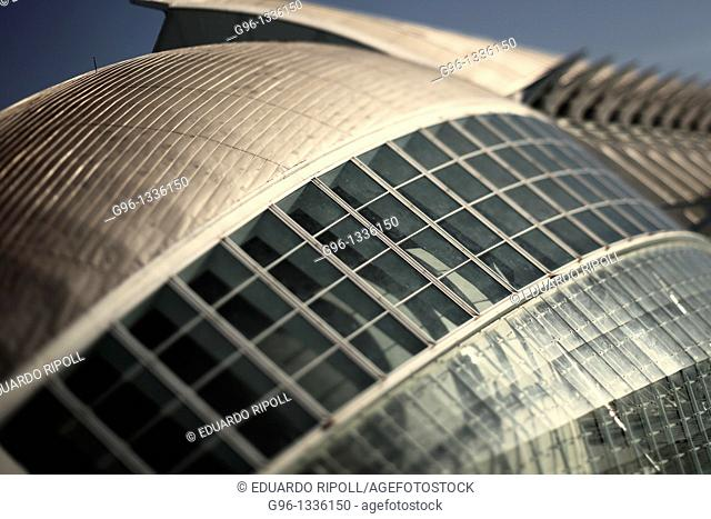 City of Arts and Sciences by Santiago Calatrava  Valencia  Spain