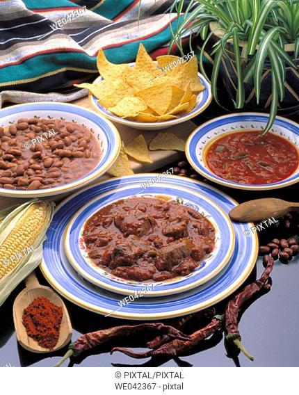 Chili con carne, Tex-Mex cuisine