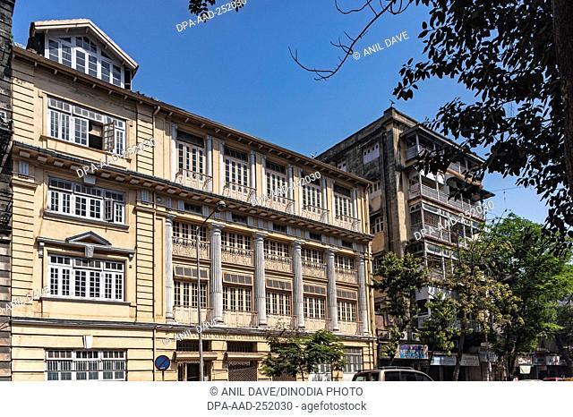 Bai manekbai nowrosji gamudia parsi girls school, mumbai, maharashtra, india, asia