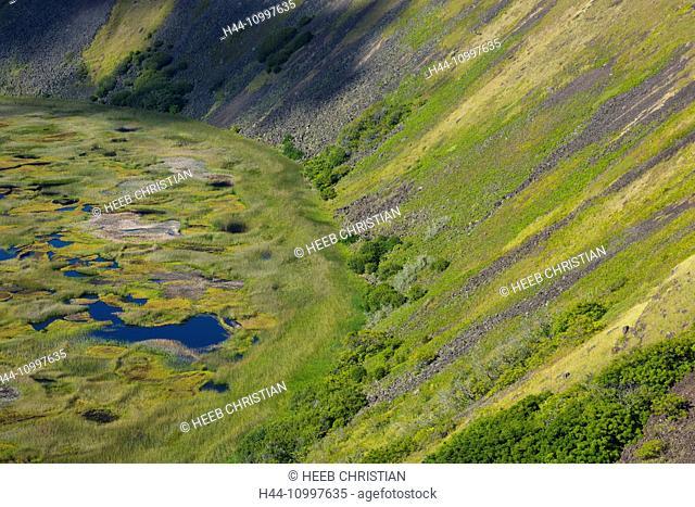 South America, Chile, Easter Island, Isla de Pasqua, south pacific, UNESCO, World Heritage, Rano Kau crater