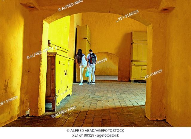Interior access of the Clock Tower, Cartagena de Indias, Colombia