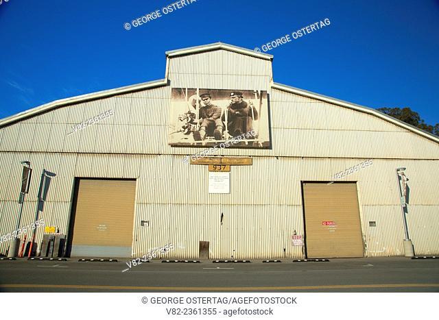Crissy Field hanger, Presidio of San Francisco, Golden Gate National Recreation Area, San Francisco, California
