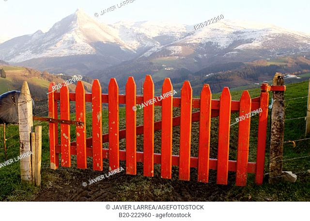 Monte Txindoki, Sierra de Aralar, Zaldibia, Guipúzcoa, Spain