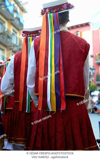 -Traditional Dancers- Cambrils, Catalonia, Spain