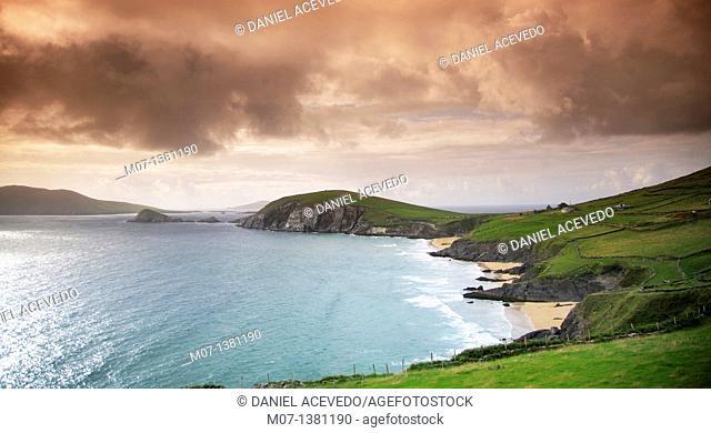 Dingle coastline, Co Kerry, Ireland