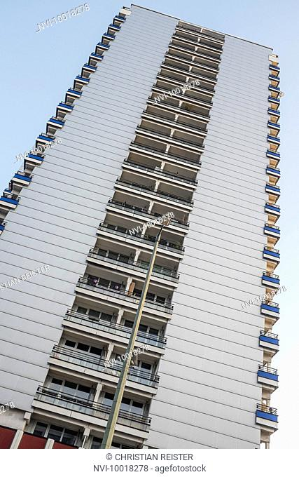 Facade on Leipziger Strasse, Mitte, Berlin, Germany, Europe