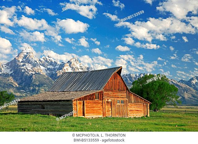 Ranch in Wyoming - Moulton Barn, USA, Wyoming, Grand Teton NP