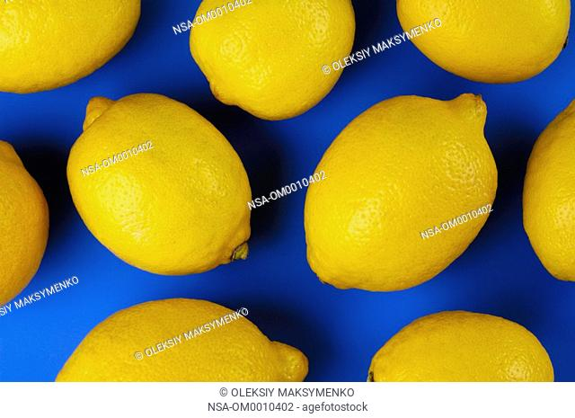 Colorful Lemon Abstraction