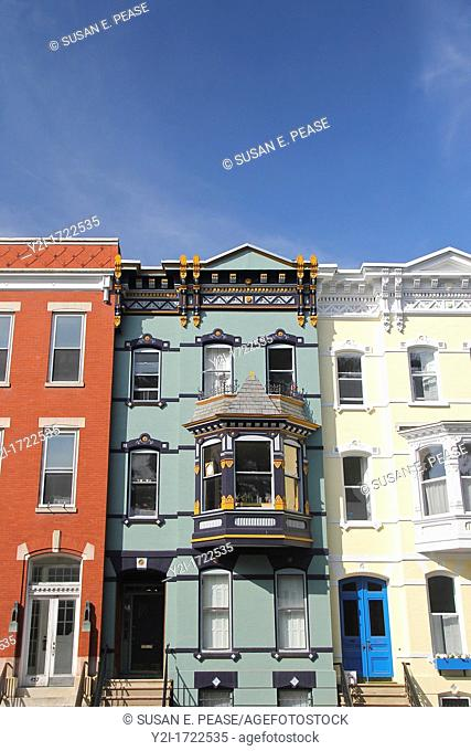 Townhouses in Albany, New York