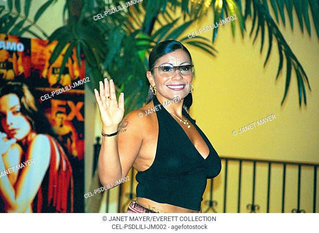 Lisa Lisa at premiere of UNDEFEATED, NY 7/22/2003, by Janet Mayer