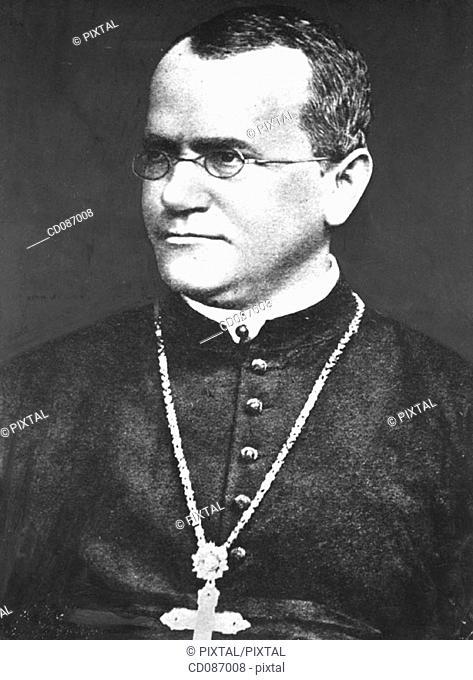 Gregor (Johann) Mendel, austrian scientist (1822-1884)