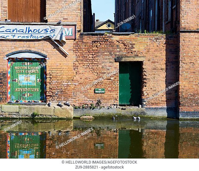 Nottingham Beeston Canal, Nottingham, Nottinghamshire, east Midlands, England