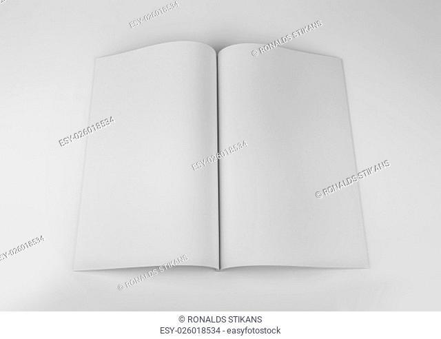blank magazine, catalog, brochure, book mock up