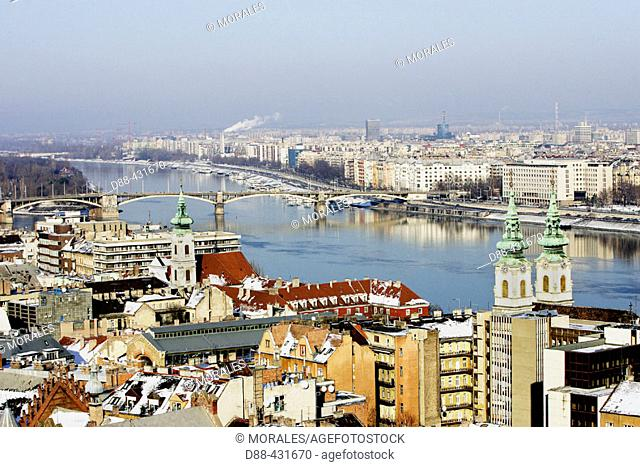 Budapest as seen from the Royal Palace. Hungary