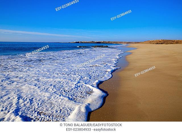El Cotillo Castillo Beach in Fuerteventura at Canary Islands of Spain